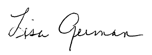 dean german's signature