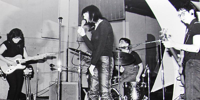 Mydolls performing on stage
