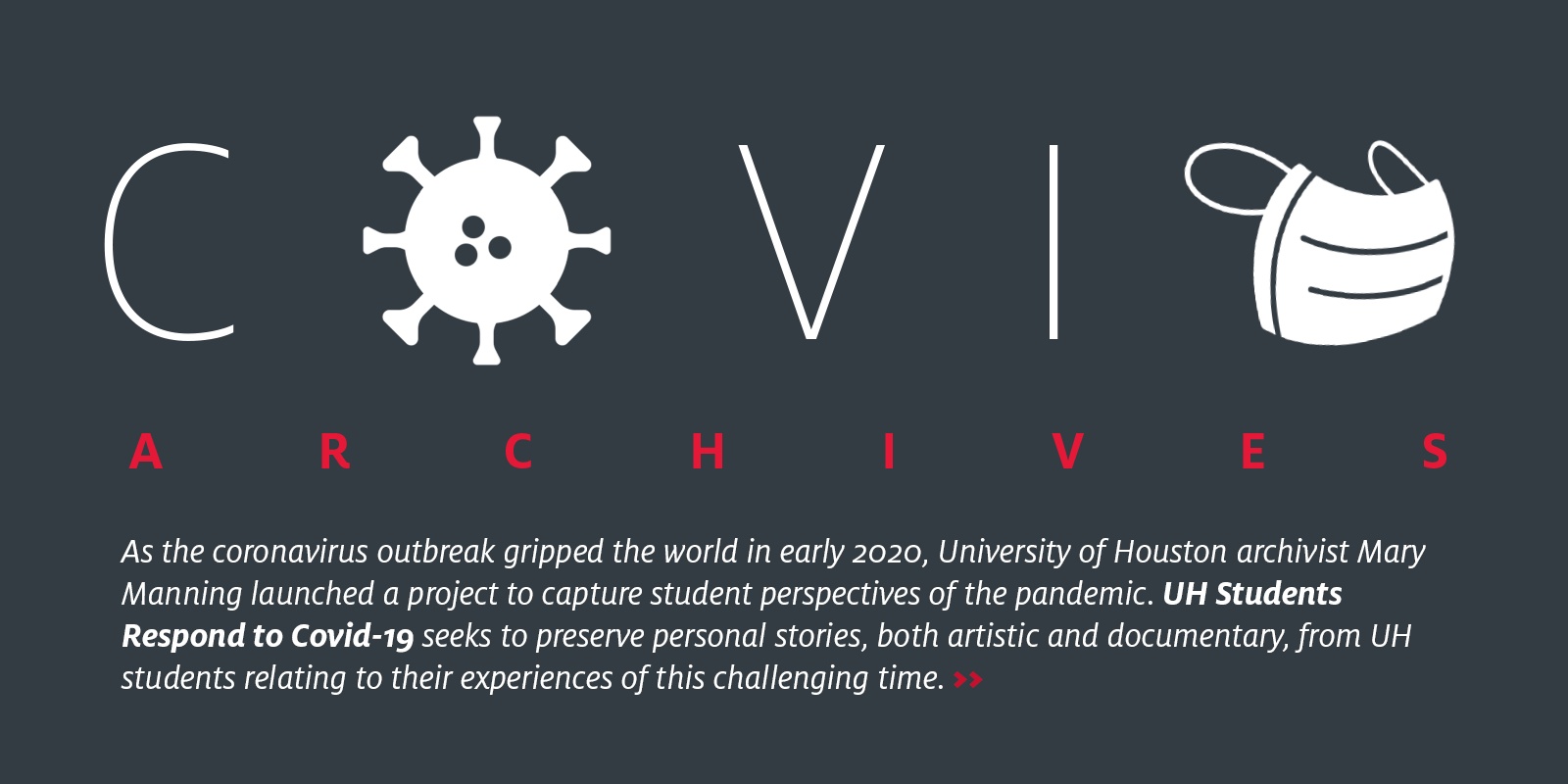 header for COVID Archives project