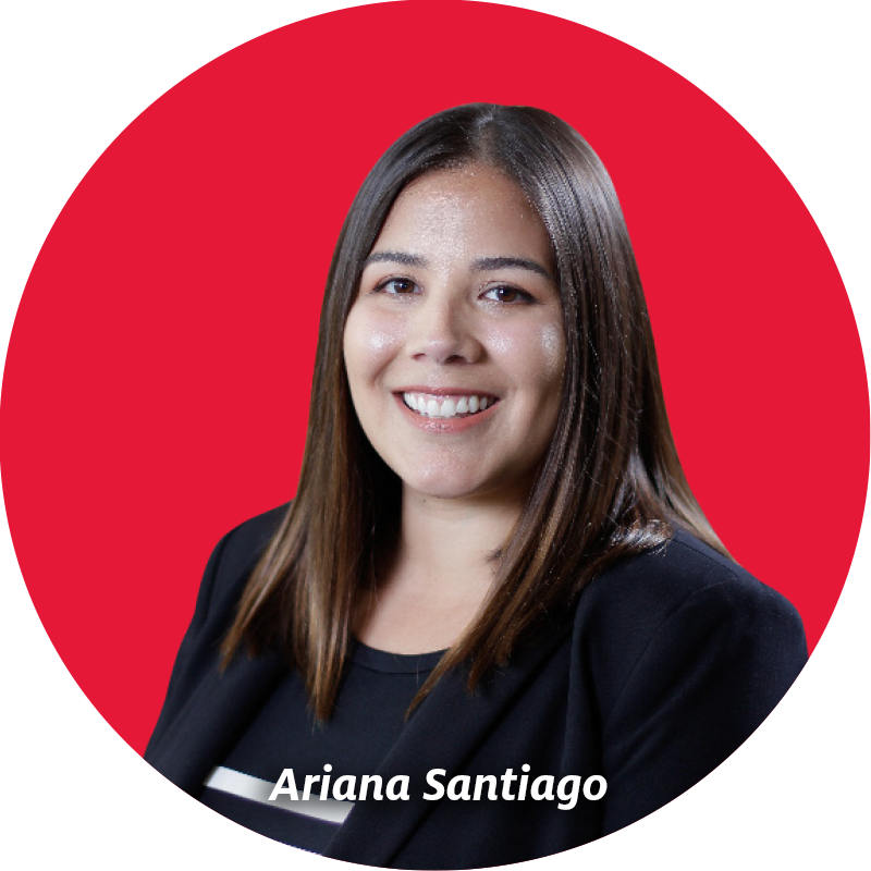 headshot of librarian Ariana Santiago