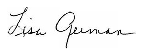 dean german's signature