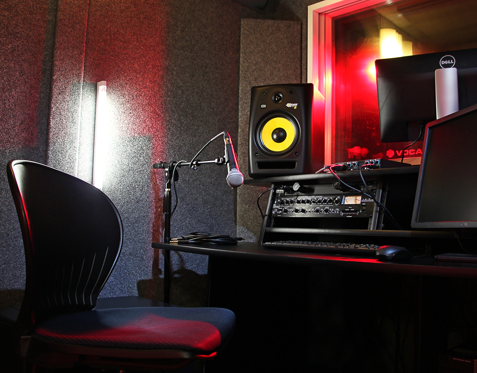 photo of multimedia studio