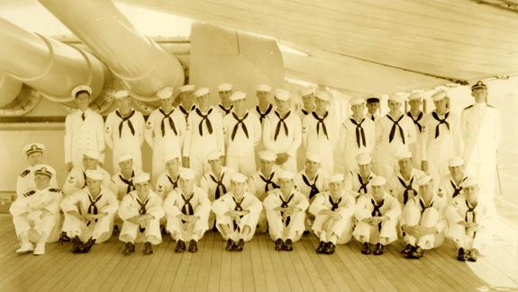 F Division, USS Houston (CA-30)