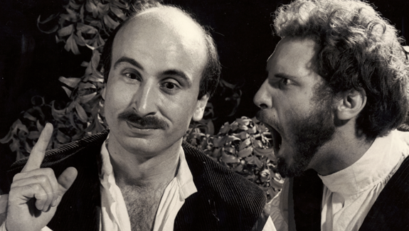 George Grenias & Maurice Tuttle in Hello Hamlet Benefit