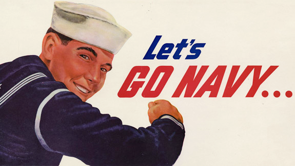 U.S. Navy recruiting poster