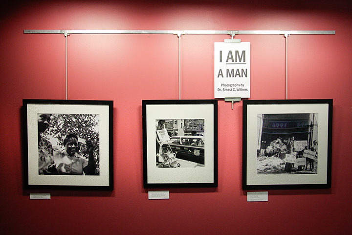 """I AM A MAN"" exhibit"