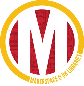 UH Libraries' Makerspace Logo
