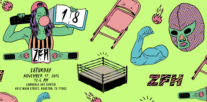 Zine Fest Houston | Saturday, November 17 | Lawndale Art Center | 12 noon - 6pm