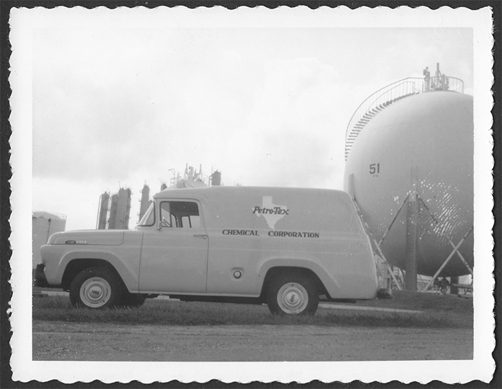 Petro-Tex Chemical Corporation Panel Truck, 1957