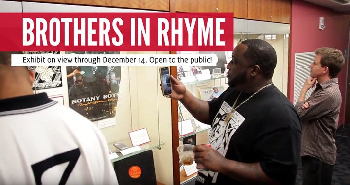 Brothers in Rhyme Exhibit Opening Reception