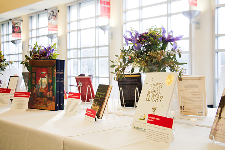 Honorees' book selections are in the Libraries catalog and on display in a digital exhibit.