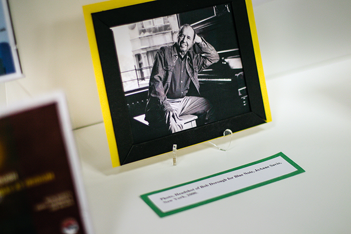 A new exhibit featuring the work of Bob Dorough is now on display at the UH Music Library.