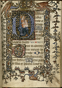 Book of Hours, Use of Reims (Illuminated Pages)