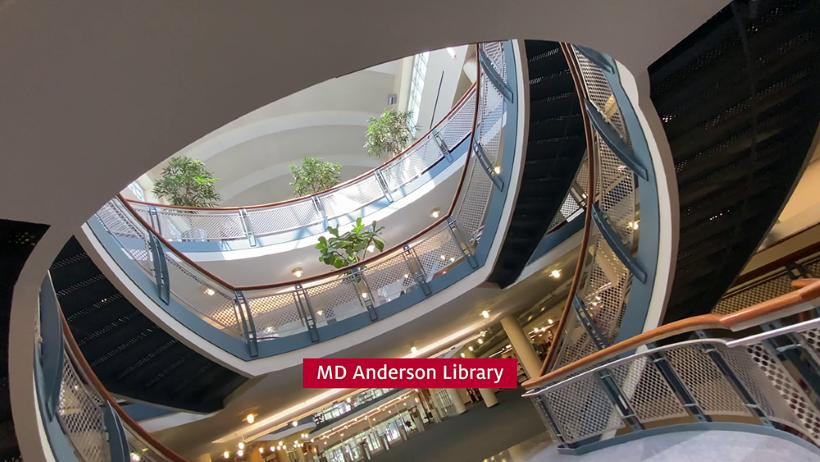Take a video tour of University of Houston Libraries.
