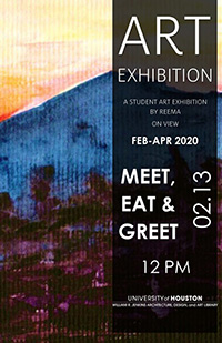 Student Artist Reception February 13