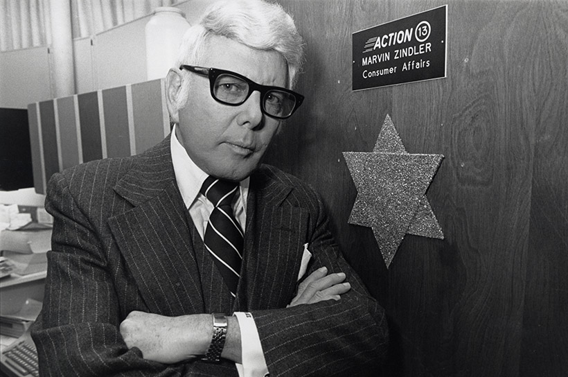 Marvin Zindler in an undated photo, part of the University of Houston People digital collection.